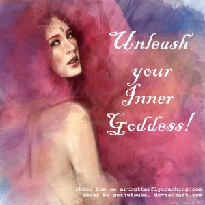 Goddess Unleashed Highly Sensitive Person Depression Anxiety Heartbreak_Art Butterfly Coaching