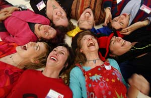 Laughter Yoga Mary DeCourcy
