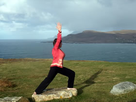 A Day of Yoga and Meditation – Rosaleen Needham, Sat 8th Aug, 10.30 AM – 4.30 PM (€50 incl. lunch; venue: Achill Yoga Studio)